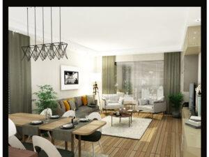 ویلای ۴ خوابه در استانبول دارای باغچه و استخر خصوصی