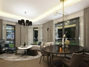 خانه لوکس ۱۷۴ متری در استانبول