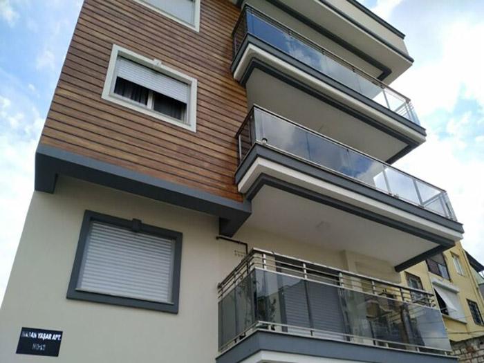 خانه 55 متری لوکس در بایراکلی ازمیر