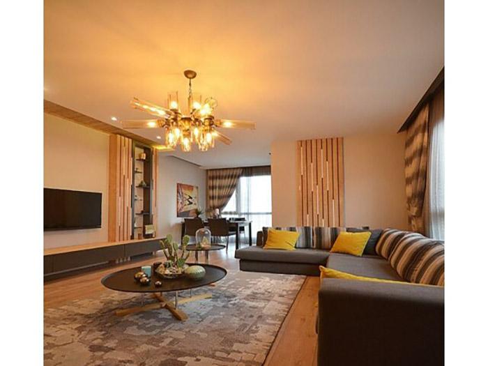 خانه لوکس 120 متری در بیلیک دوزو استانبول
